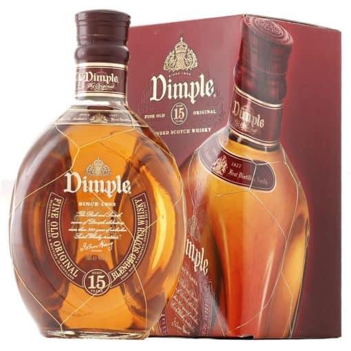dimple 15yo whisky